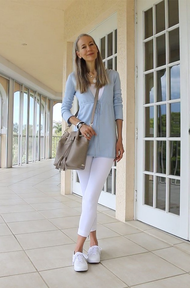 Leggings-and-sneakers.-1 80+ Fabulous Outfits for Women Over 50