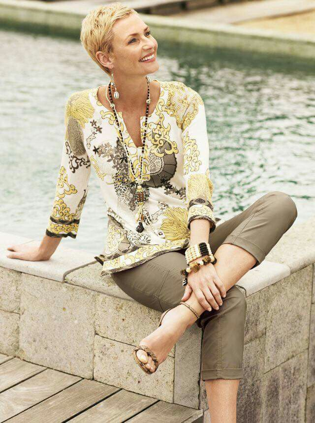 Long-sleeve-blouse-..-1 110+ Elegant Outfit Ideas for Women Over 60