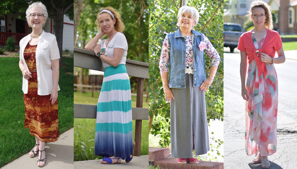 Maxi-outfit 110+ Elegant Outfit Ideas for Women Over 60