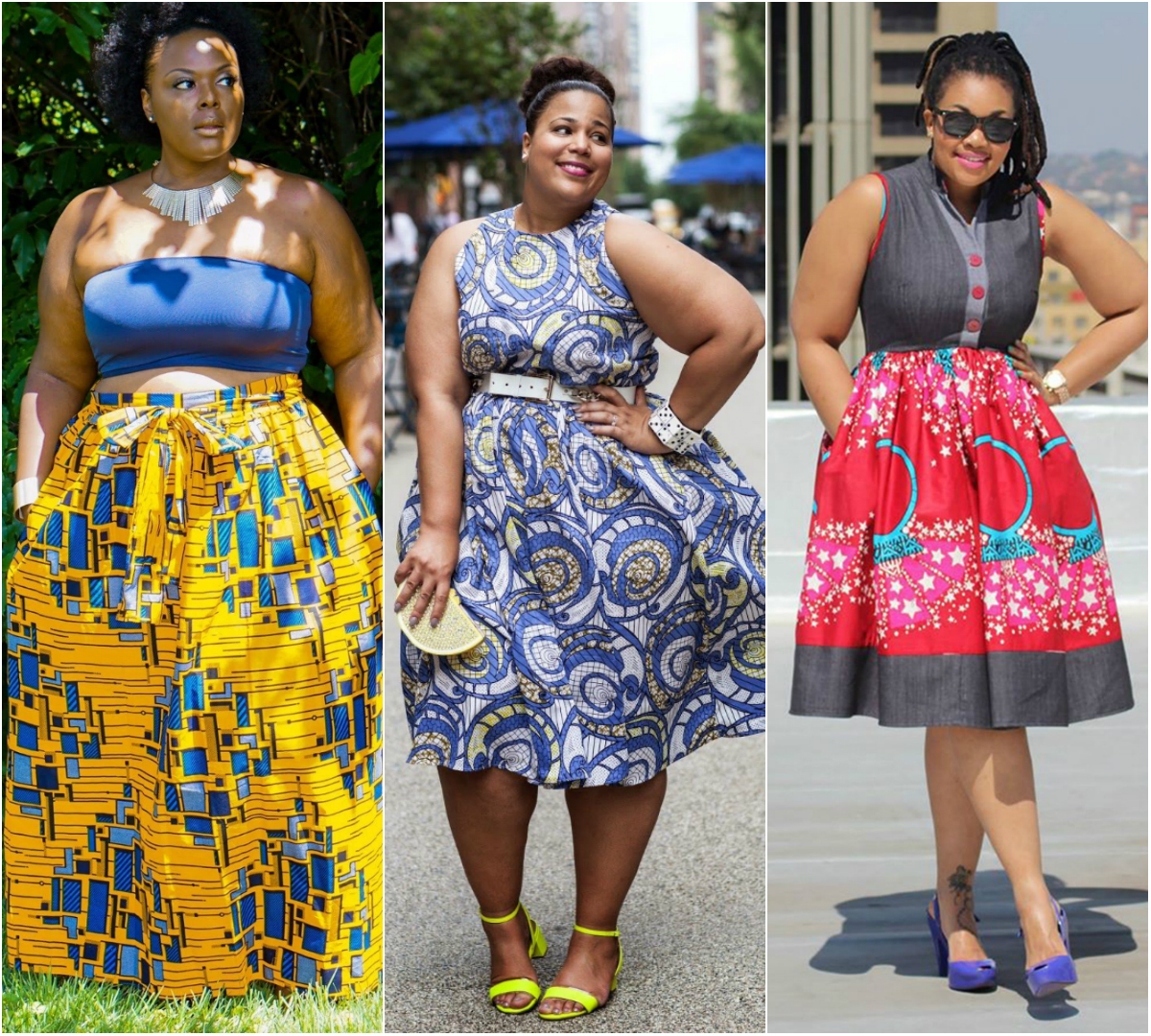 Oversized-Prints. 70+ Stylish Plus-Size Fashion Trends in 2021