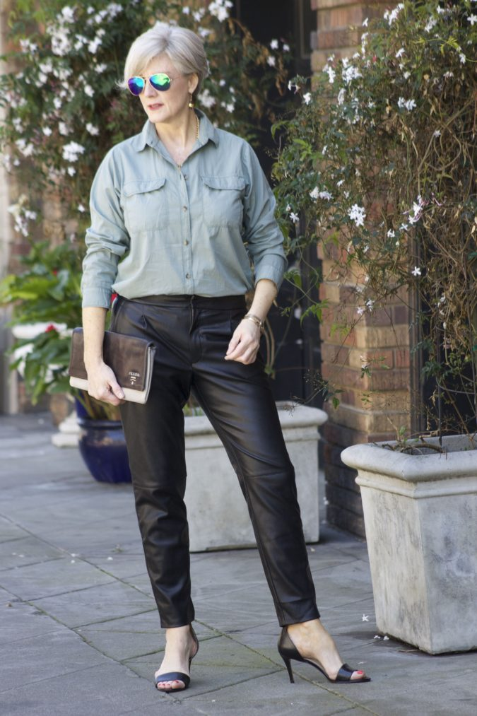 Shirt-and-trouser-2-675x1013 110+ Elegant Outfit Ideas for Women Over 60