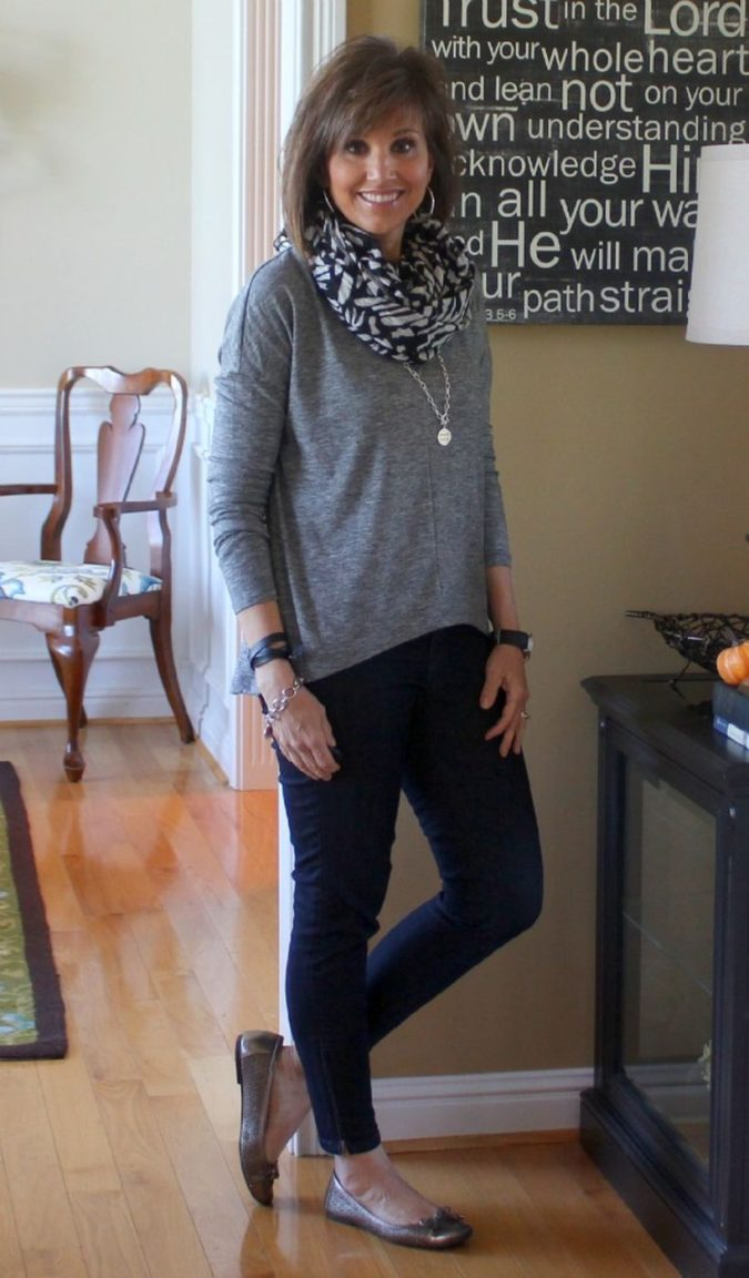 Sweater-and-pants.-2-675x1152 110+ Elegant Outfit Ideas for Women Over 60