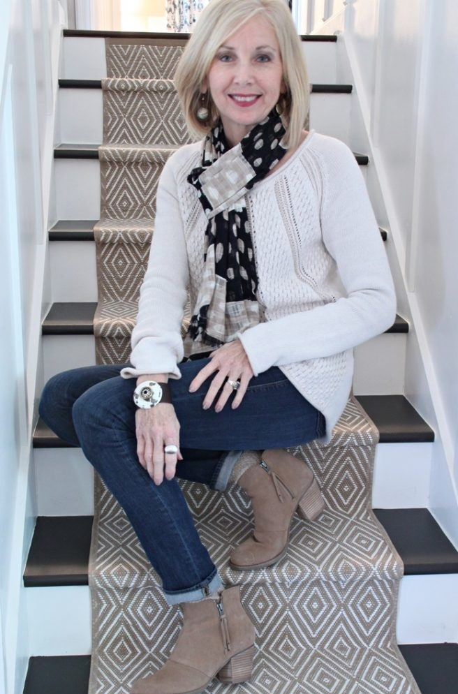 Sweater-and-pants...-1 110+ Elegant Outfit Ideas for Women Over 60