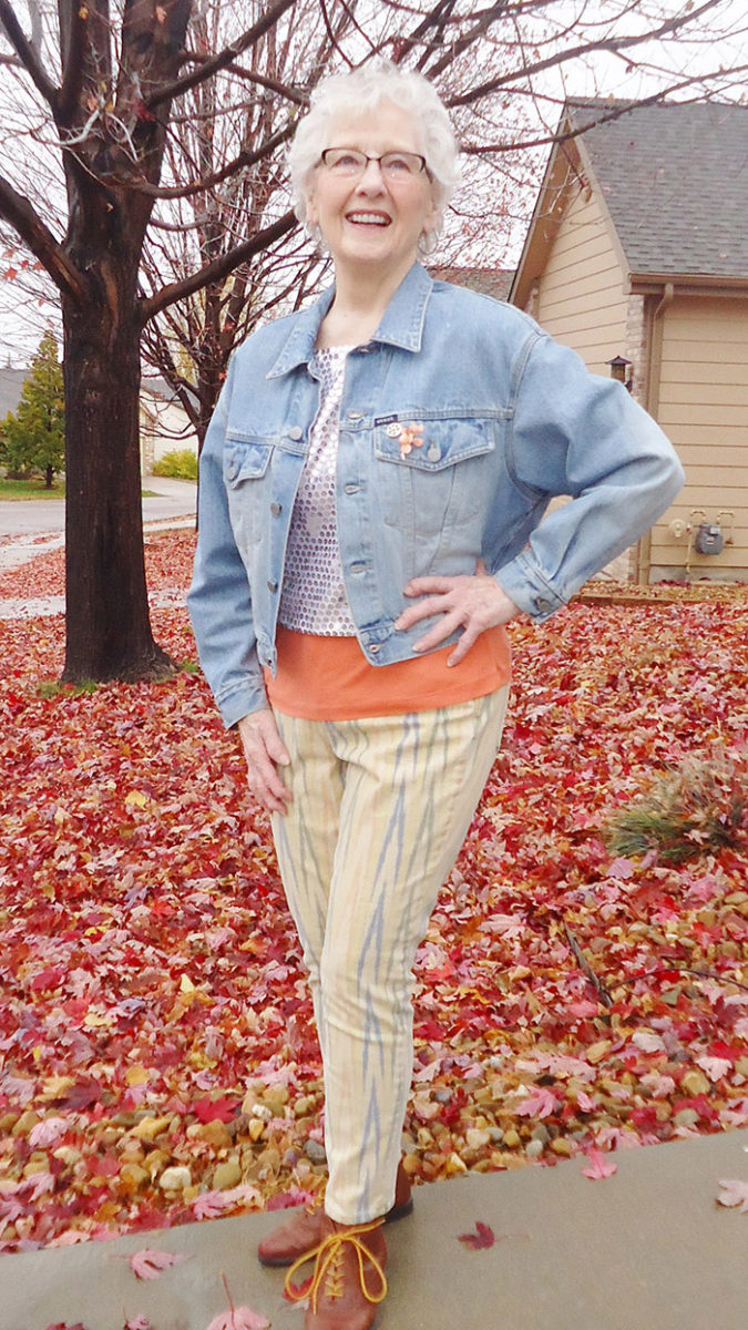 Wearing-denim.-3-675x1200 110+ Elegant Outfit Ideas for Women Over 60