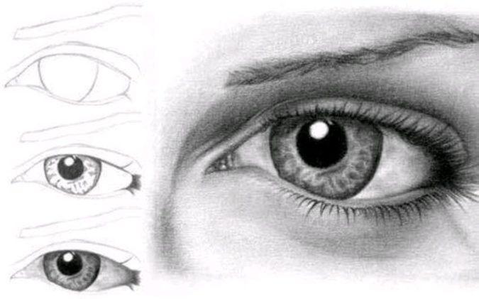 eyes.-675x421 Top 10 Easiest Drawing Ideas for Kids