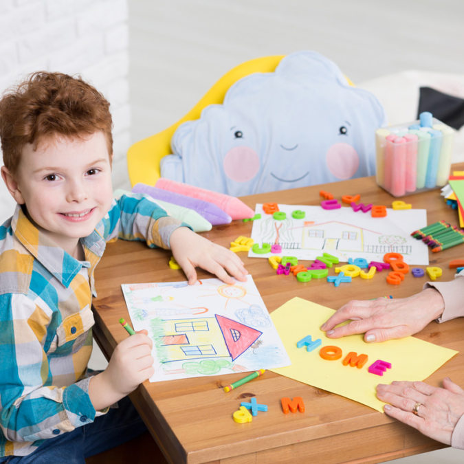 home.-1-675x675 Top 10 Easiest Drawing Ideas for Kids