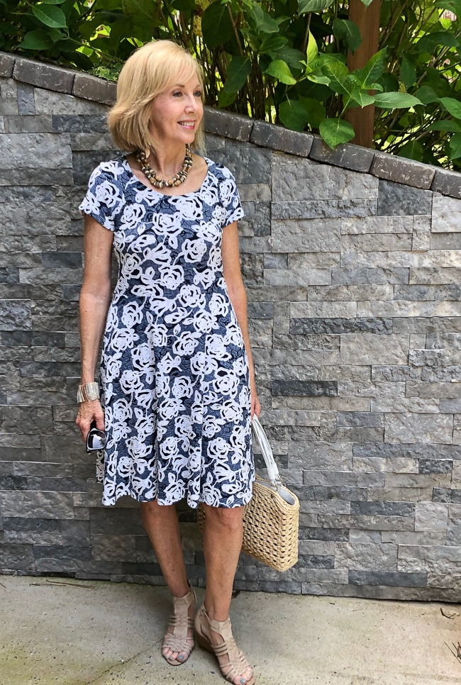 midi-dress.-6 80+ Fabulous Outfits for Women Over 50
