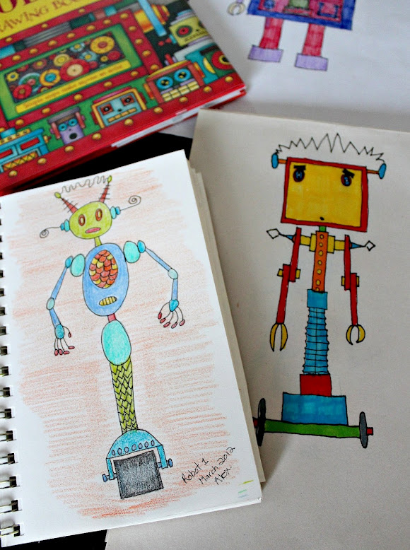 robot-3 Top 10 Easiest Drawing Ideas for Kids