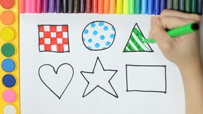 shapes.-675x380 Top 10 Easiest Drawing Ideas for Kids