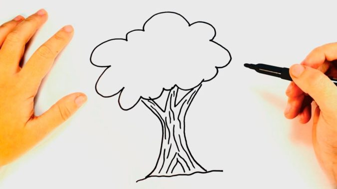 tree-675x380 Top 10 Easiest Drawing Ideas for Kids