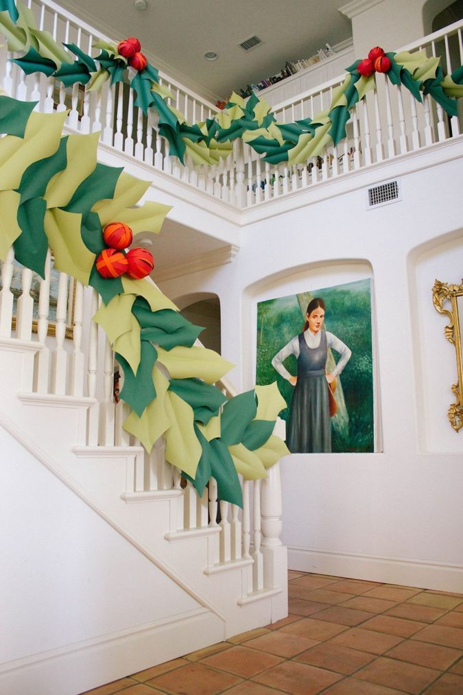 3D-paper-decorations-2-675x1013 60+Untraditional Christmas Decorations to Transform Your Home Look This Year