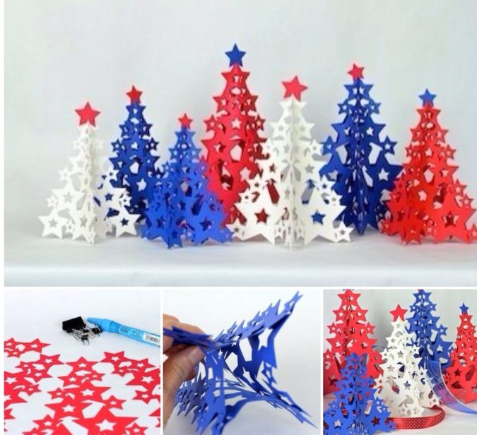 3D-paper-decorations-3-675x616 60+Untraditional Christmas Decorations to Transform Your Home Look This Year