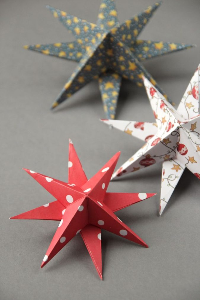 3D-paper-decorations.-1-675x1013 60+Untraditional Christmas Decorations to Transform Your Home Look This Year