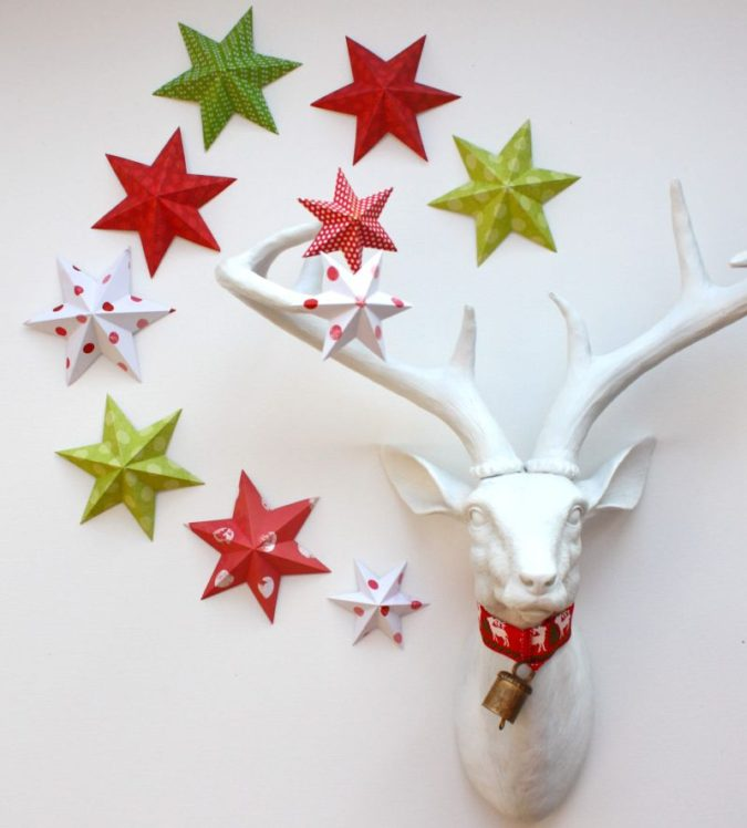 3D-paper-decorations.-2-675x748 60+Untraditional Christmas Decorations to Transform Your Home Look This Year