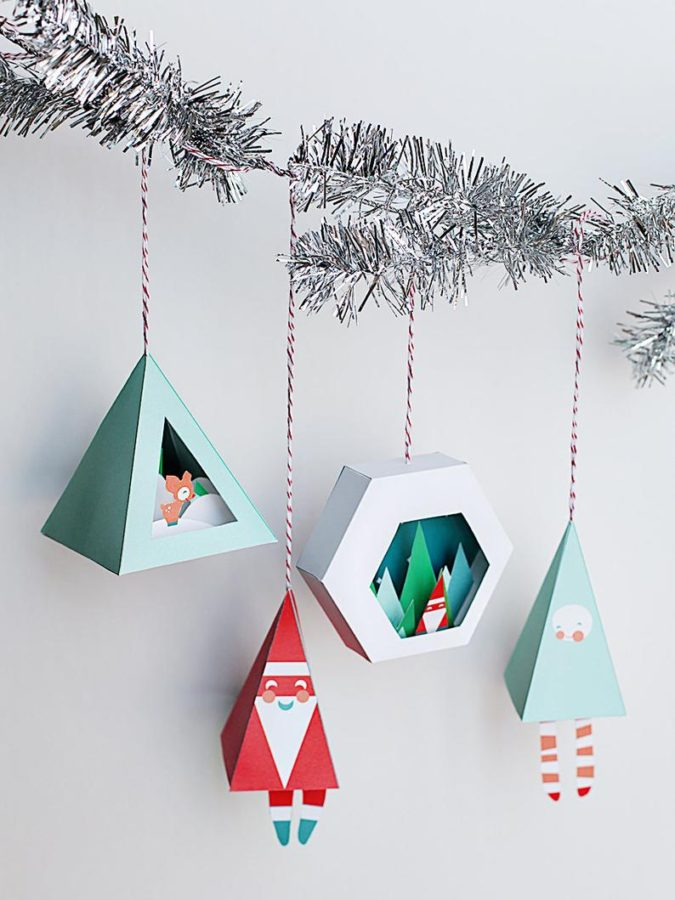 3D-paper-decorations.-3-675x900 60+Untraditional Christmas Decorations to Transform Your Home Look This Year