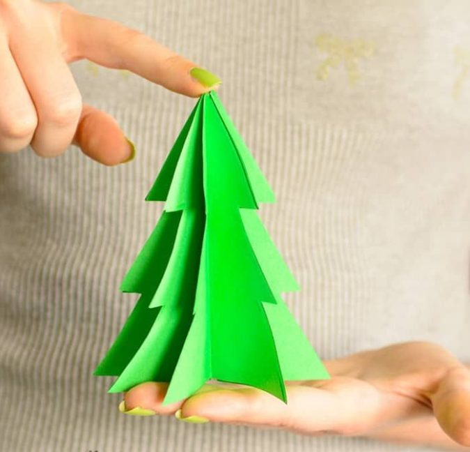 3D-paper-decorations.-675x648 60+Untraditional Christmas Decorations to Transform Your Home Look This Year