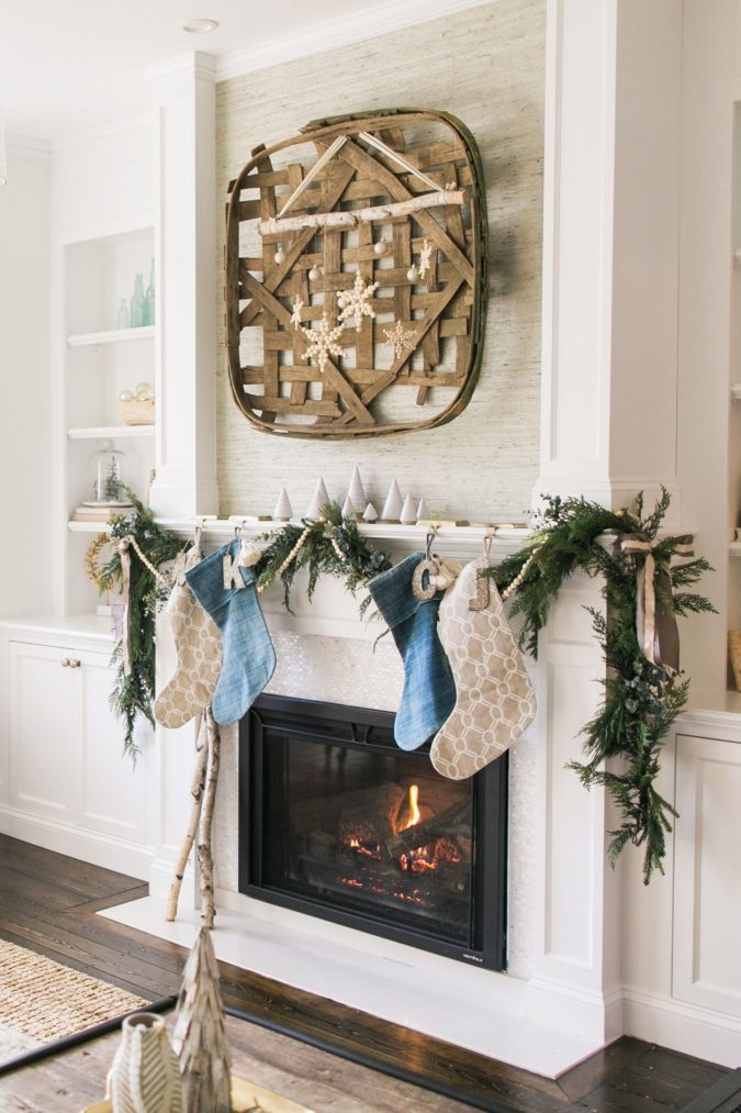 A-vintage-tobacco-basket..-675x1013 60+Untraditional Christmas Decorations to Transform Your Home Look This Year
