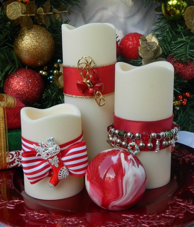 Candles-1-675x789 60+ Creative Ways to Decorate Your Home for This Christmas