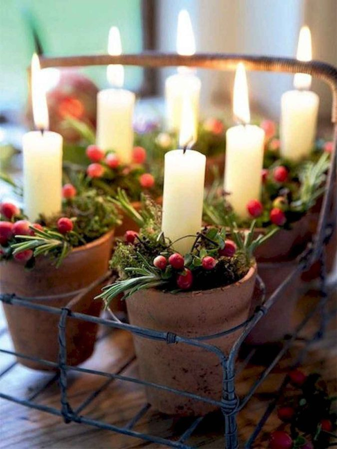 Candles-4-675x900 60+ Creative Ways to Decorate Your Home for This Christmas