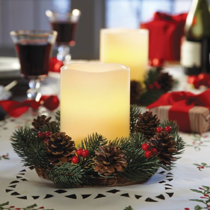 Candles.-2-675x675 60+ Creative Ways to Decorate Your Home for This Christmas