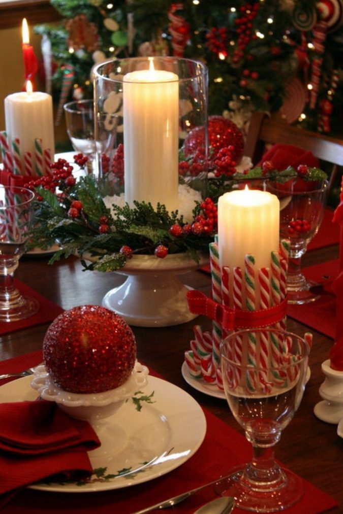 Candles..-675x1013 60+ Creative Ways to Decorate Your Home for This Christmas