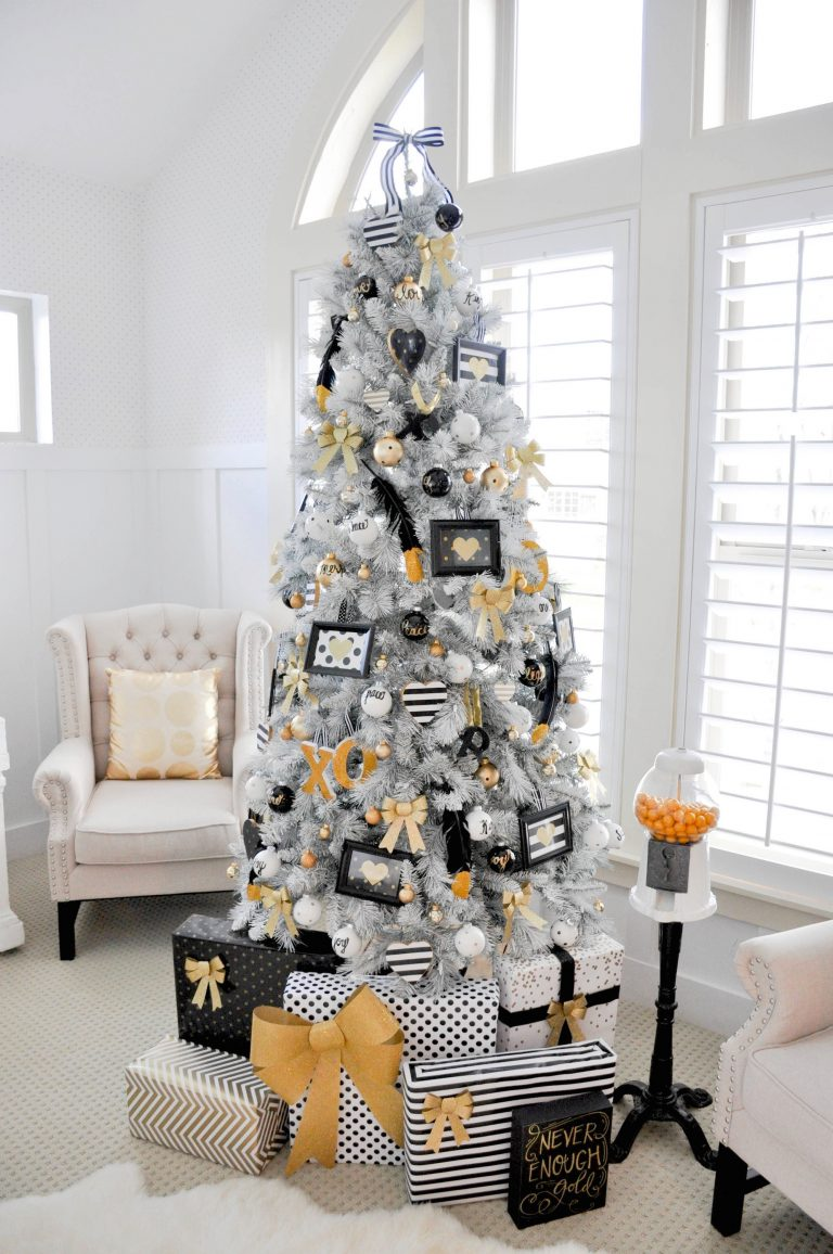 Christmas-tree-Decor-2 Master Christmas Tree Decoration by Simple Tips and 50+ Ideas