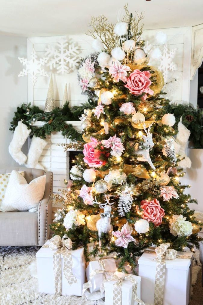 Christmas-tree-Decor-675x1013 Master Christmas Tree Decoration by Simple Tips and 50+ Ideas