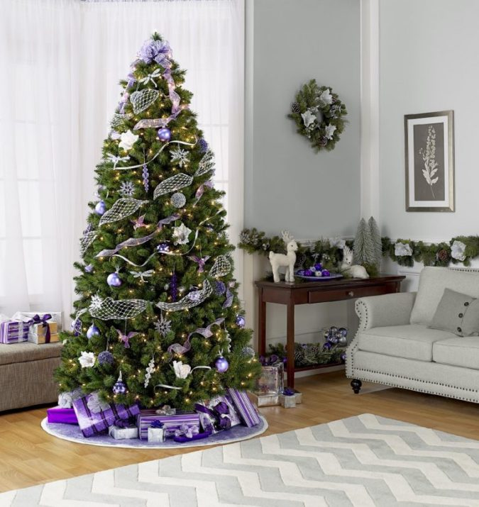 Christmas-tree-Decor..-675x715 Master Christmas Tree Decoration by Simple Tips and 50+ Ideas