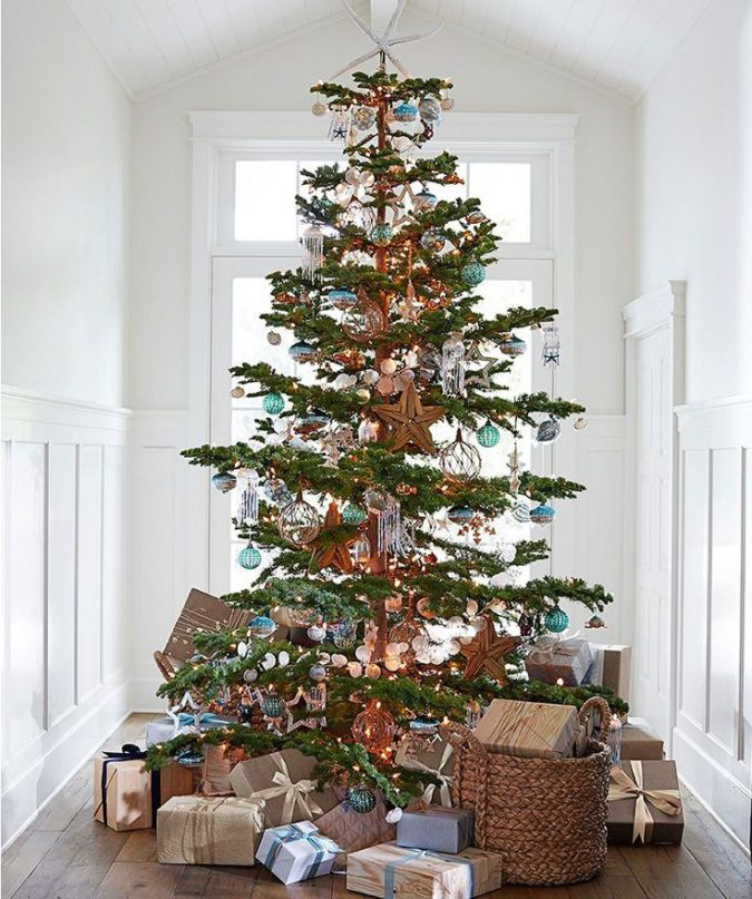 Christmas-tree-Decor...-675x807 Master Christmas Tree Decoration by Simple Tips and 50+ Ideas