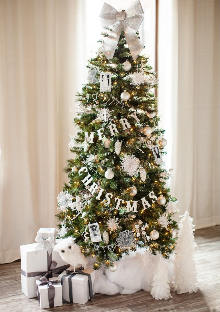 Christmas-tree-Decorations-4 Master Christmas Tree Decoration by Simple Tips and 50+ Ideas