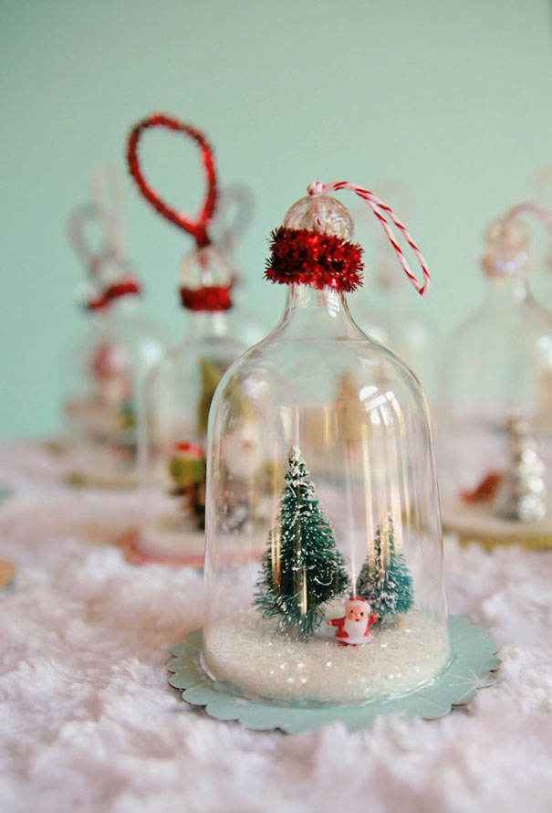 DIY-Christmas-decorations.. 70+ Impressive Christmas Decorations to Do Yourself 2020 - 2021