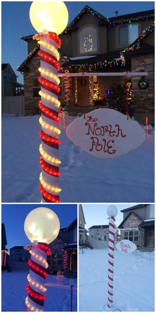 DIY-Christmas-lighting-1 70+ Impressive Christmas Decorations to Do Yourself in 2021
