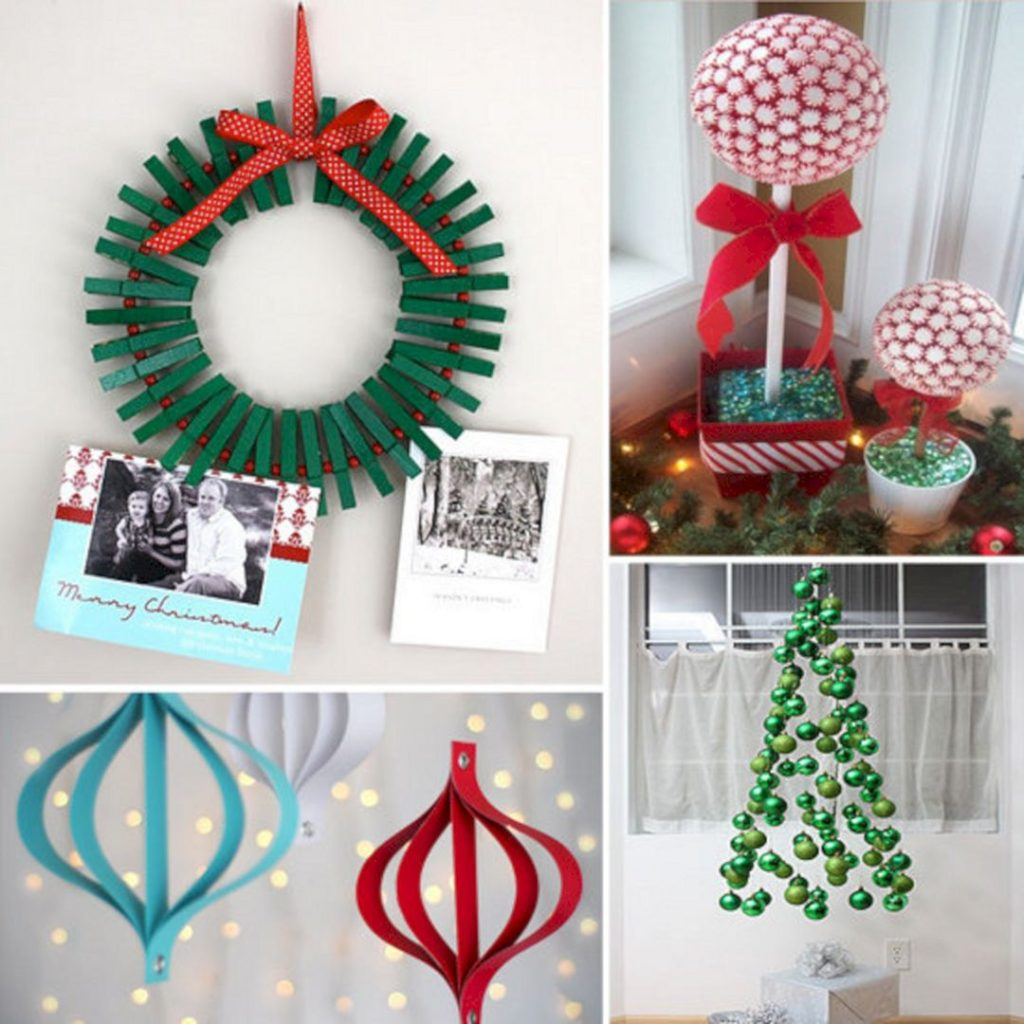 DIY-Christmas-living-room-decoration.-1024x1024 70+ Impressive Christmas Decorations to Do Yourself in 2021