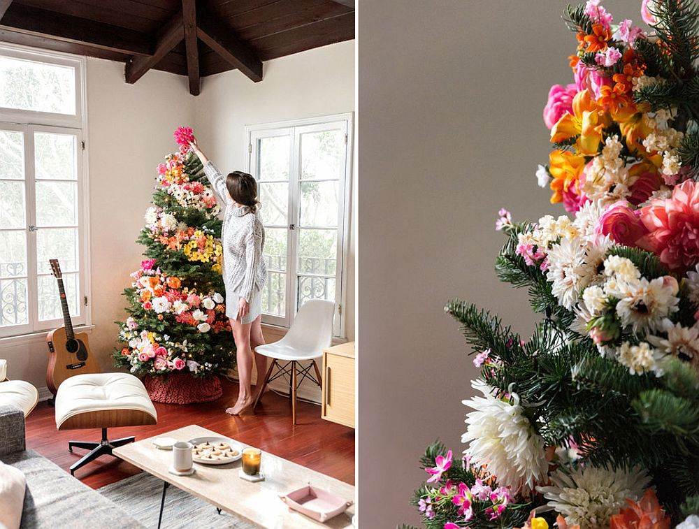 DIY-Christmas-living-room-decorations. 70+ Impressive Christmas Decorations to Do Yourself in 2021