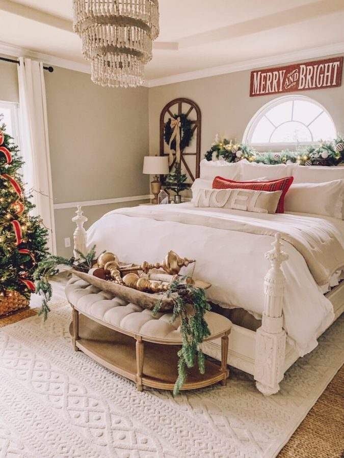 Guest-Room-2-675x900 50+ Guest Room Christmas Decorations – Can You Make It Before Christmas Arriving?
