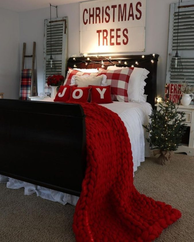 Guest-Room-4-675x844 50+ Guest Room Christmas Decorations – Can You Make It Before Christmas Arriving?