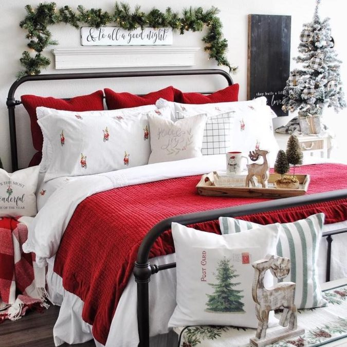 Guest-Room.-4-675x675 50+ Guest Room Christmas Decorations – Can You Make It Before Christmas Arriving?