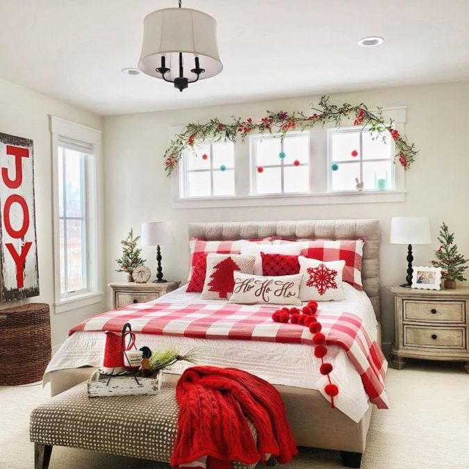 Guest-Room..-1-675x675 50+ Guest Room Christmas Decorations – Can You Make It Before Christmas Arriving?