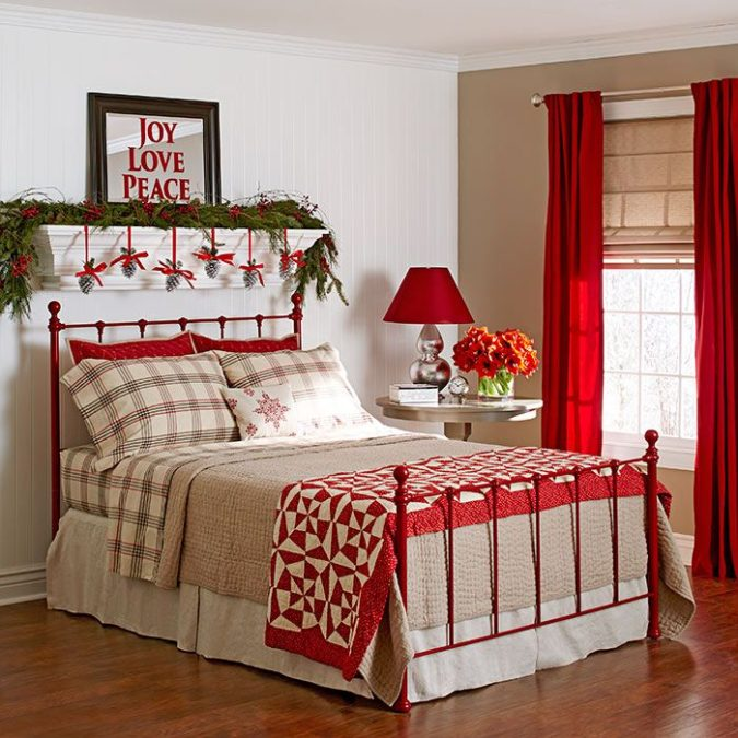 Guest-Room..-675x675 50+ Guest Room Christmas Decorations – Can You Make It Before Christmas Arriving?