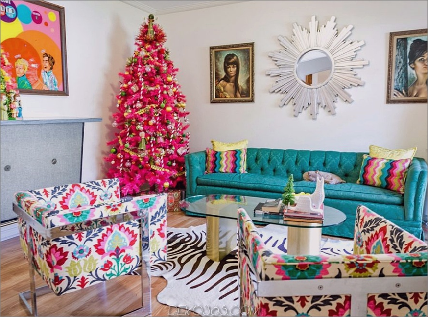 Non-Traditional-Christmas-Color-Scheme-1 70+ Brilliant Ideas for This Year Christmas Decoration