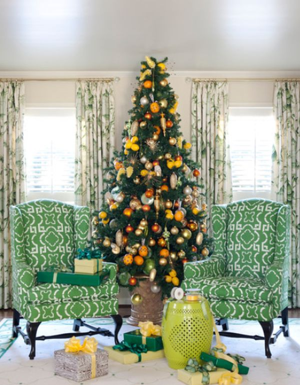 Non-Traditional-Christmas-Color-Scheme.. 70+ Brilliant Ideas for This Year Christmas Decoration