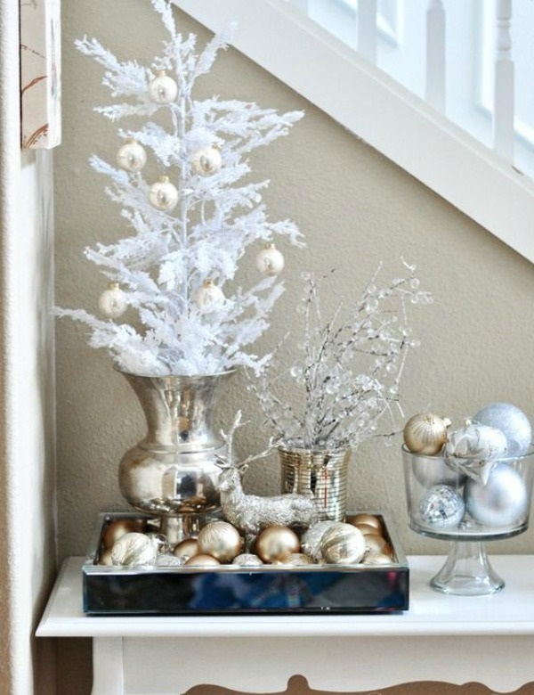 Non-Traditional-Christmas-Color-Scheme..M 70+ Brilliant Ideas for This Year Christmas Decoration