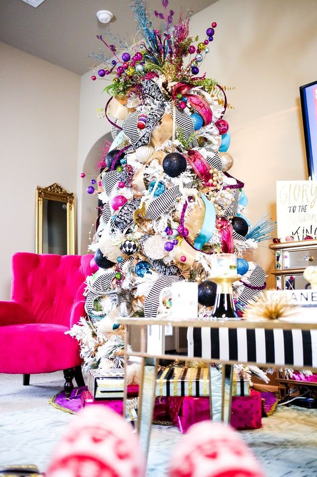 Non-Traditional-Christmas-Color-Scheme. 70+ Brilliant Ideas for This Year Christmas Decoration