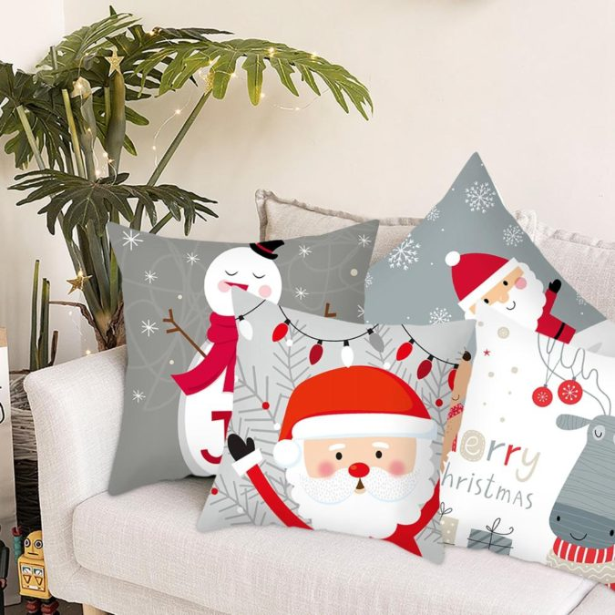 Pillows-Cushions.-4-675x675 50+ Guest Room Christmas Decorations – Can You Make It Before Christmas Arriving?