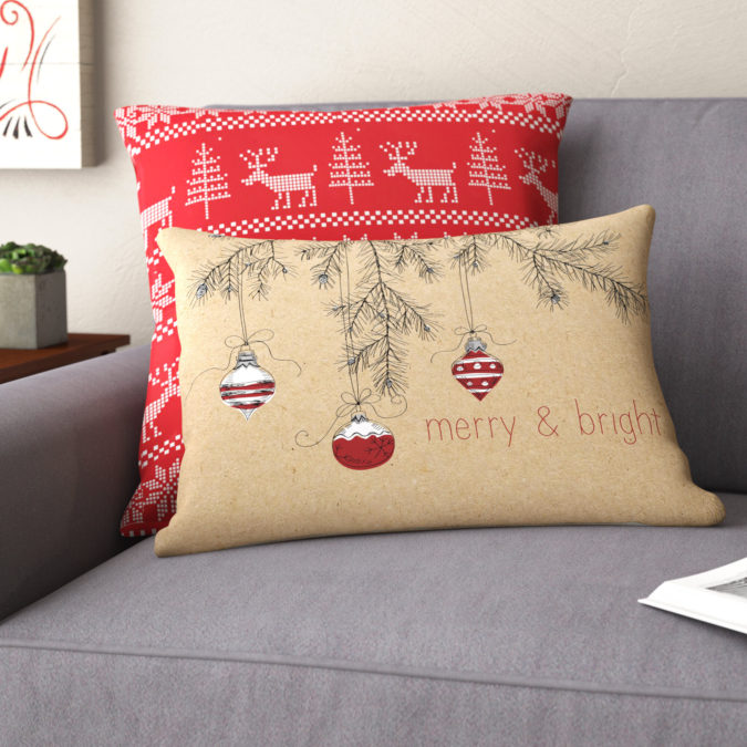 Pillows-Cushions..-675x675 50+ Guest Room Christmas Decorations – Can You Make It Before Christmas Arriving?