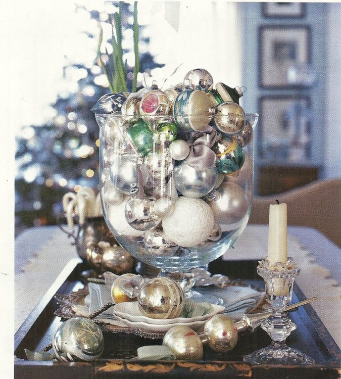 Shiny-Ornaments-1-675x750 60+ Creative Ways to Decorate Your Home for This Christmas