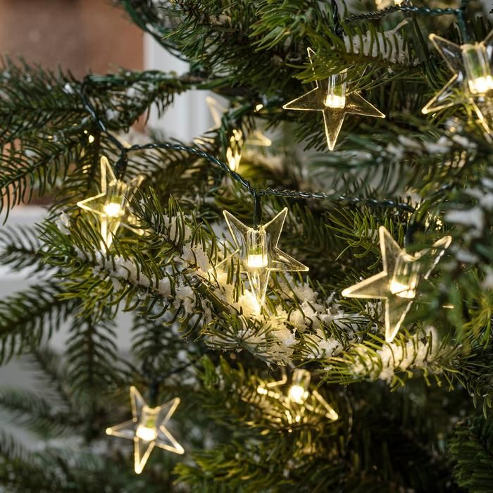 The-Christmas-tree-lights... Master Christmas Tree Decoration by Simple Tips and 50+ Ideas
