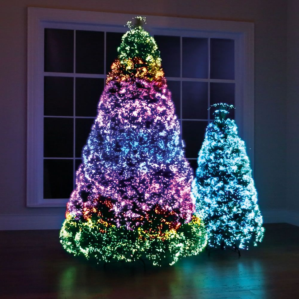 The-Christmas-tree-lights Master Christmas Tree Decoration by Simple Tips and 50+ Ideas