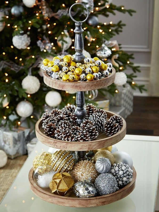 cake-plate-2-675x902 60+ Creative Ways to Decorate Your Home for This Christmas
