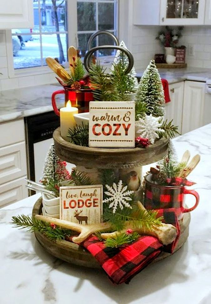 cake-plate.-1-675x973 60+ Creative Ways to Decorate Your Home for This Christmas